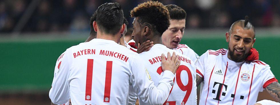 FC Bayern gewinnt gegen SC Paderborn, Foto: (c) dpa