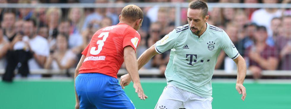 DFB-Pokal: FC Bayern besiegt SV Drochtersen/Assel mit 1:0 - das offizielle Stadtportal muenchen.de
