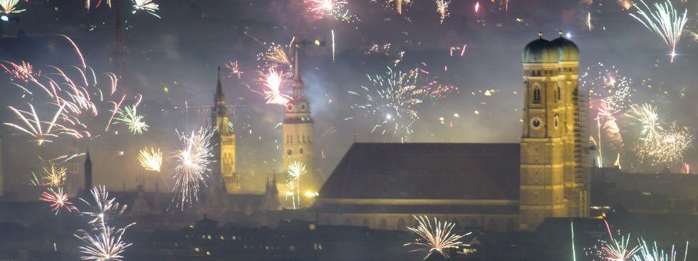 So feierte München ins neue Jahr - Das offizielle Stadtportal ...