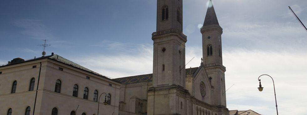Die Kirche St. Ludwig, Foto: muenchen.de/Katy Spichal