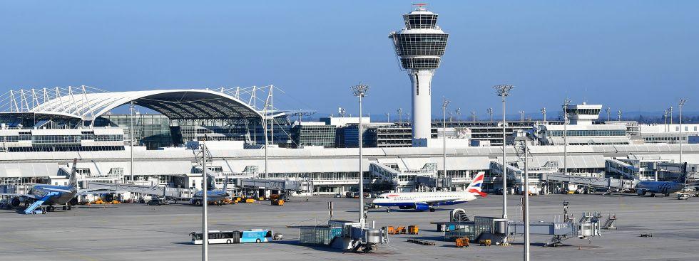 Der Münchner Flughafen, Foto: Flughafen München