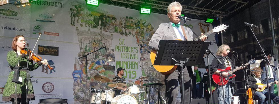 St. Patrick's Day Parade in München am 17.3.2019, Foto: Immanuel Rahman