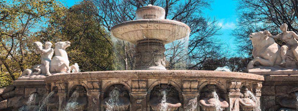 Der Wittelsbacher Brunnen in München, Foto: Marina Andresen