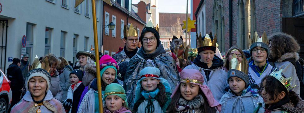 Sternsinger in Erding, Foto: Konrad Zinner/EJA Jugendamt München und Freising
