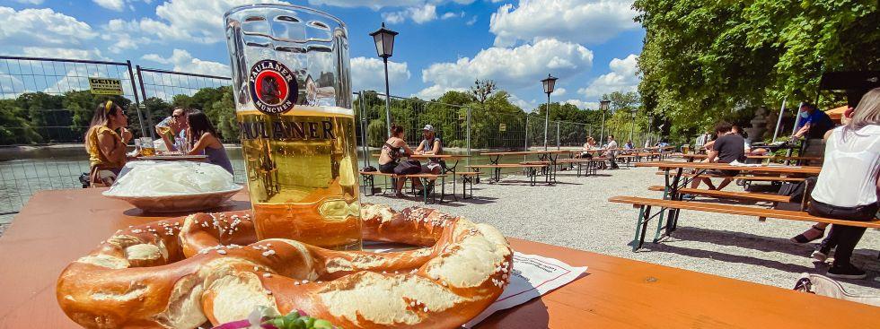 Biergarten am Seehaus, Foto: muenchen.de/Anette Göttlicher