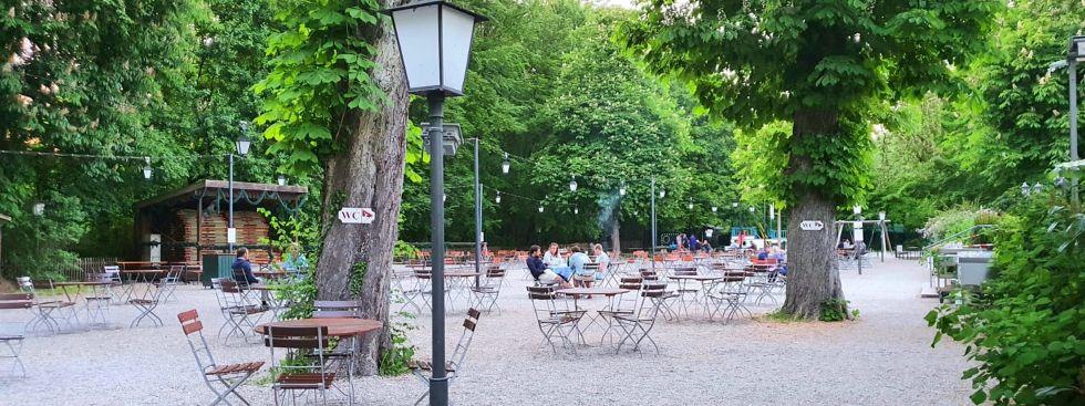 Hirschau-Biergarten, Foto: Saskia Ziegler