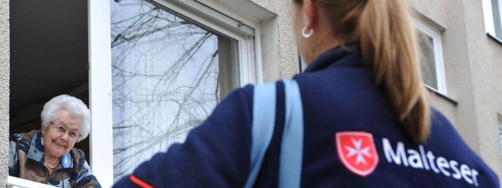 Malteser Hilfsdienst unterstützt Senioren, Foto: Clerque/Malteser