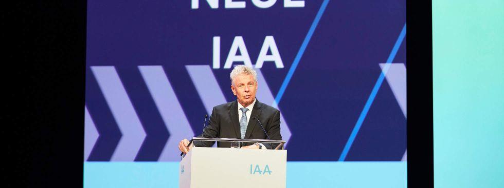 Vorstellung des IAA-Konzepts, Foto: IAA