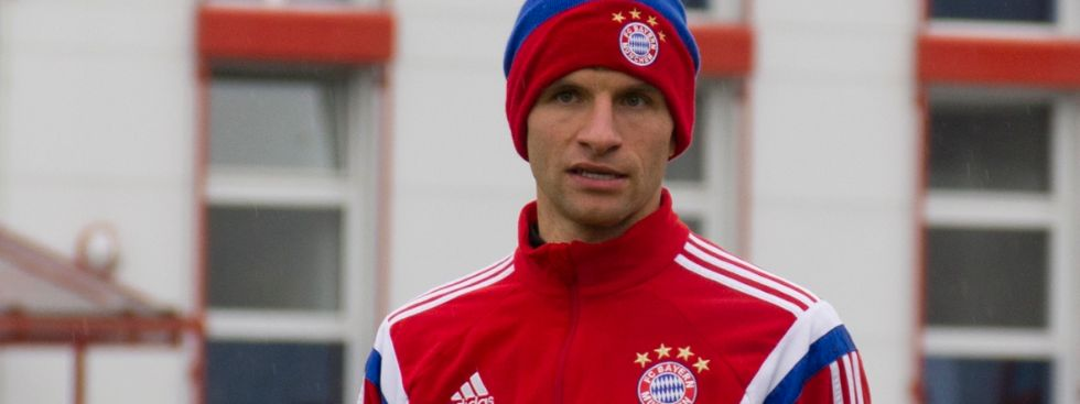Thomas Müller vom FC Bayern, Foto: Katy Spichal