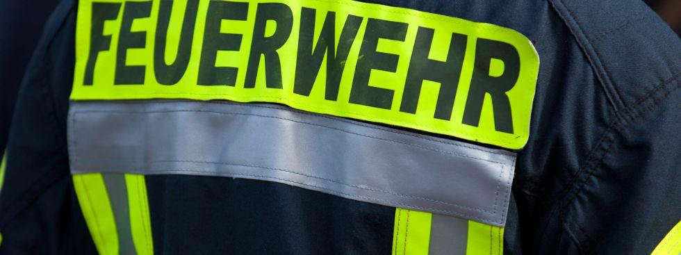 Feuerwehr Jacke mit Schriftzug