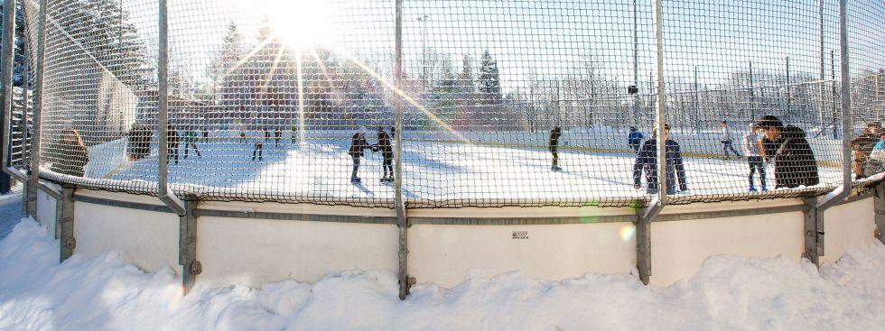 Eislaufen im Grünwalder Freizeitpark, Foto: Grünwalder Freizeitpark GmbH