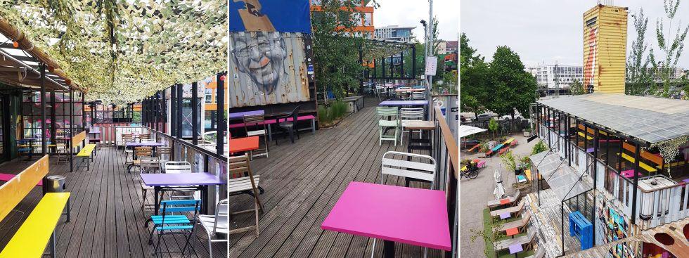 Terrasse Bel Air im Werksviertel Mitte, Foto: Bel Air