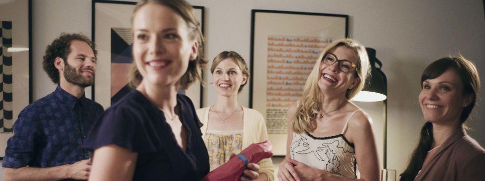 """Szenenfoto aus der Serie """"Servus Baby"""", Foto: BR/lüthje schneider hörl   FILM/Jennifer Bräuer"""