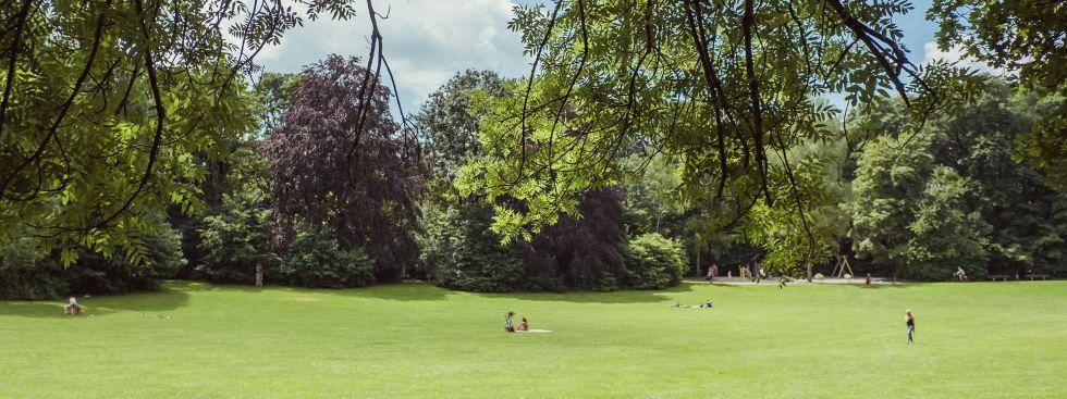 Bavariapark im Sommer, Foto: Anette Göttlicher