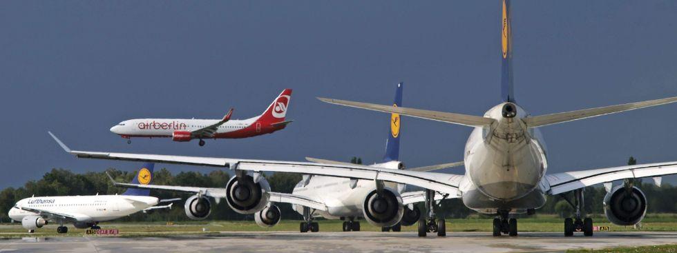 Flugverkehr, Foto: Flughafen München