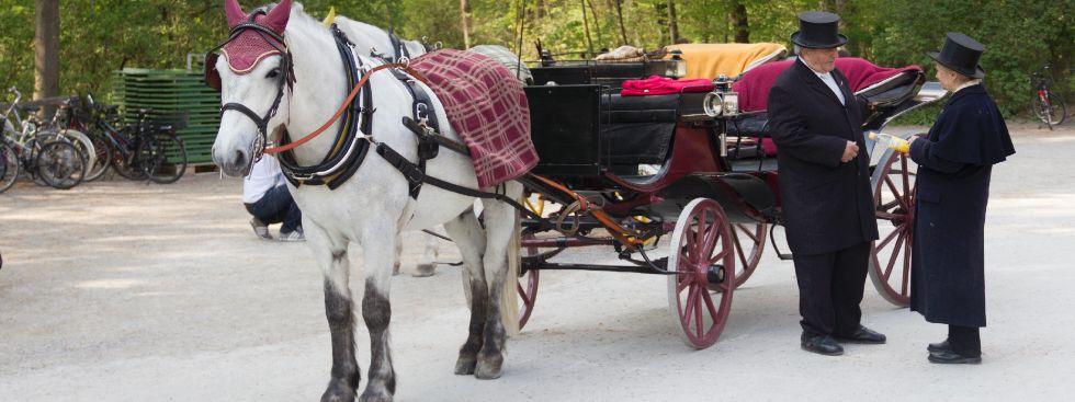Pferdekutschfahrten in München, Foto: Katy Spichal