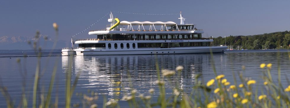 Schiff auf dem Starnberger See, Foto: Bayerische Seenschifffahrt