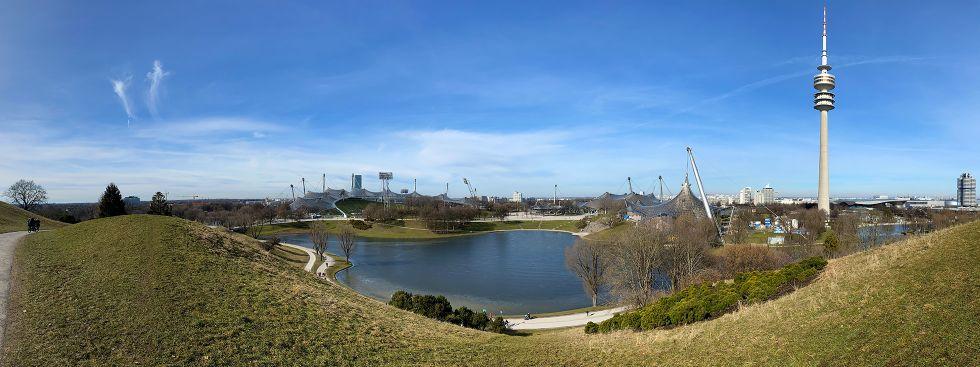 Der Münchner Olympiapark, Foto: Anette Göttlicher