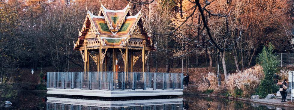 Westpark im Winter, Foto: Anette Göttlicher