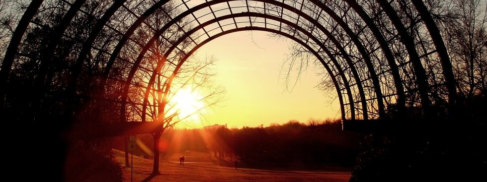 Sonnenuntergang im Westpark, Foto: SusaZoom / Fotolia.com