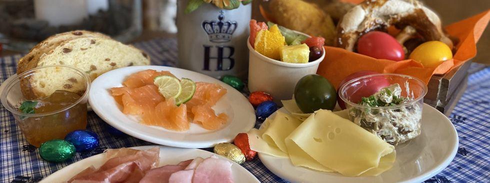 Das Osterfrühstückerl aus dem Hofbräukeller, Foto: Hofbräukeller