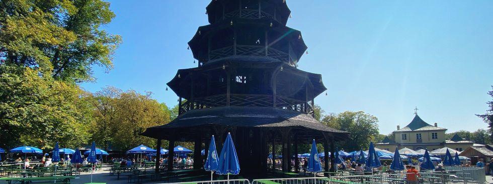Der Biergarten am Chinesischen Turm, Foto: muenchen.de/Anette Göttlicher