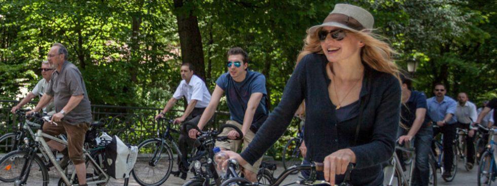 fahrrad, muenchen, stadt, sport