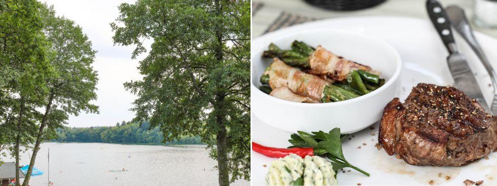 Steinsee: Strand und Restaurant, Foto: Vukadin/Photopraline