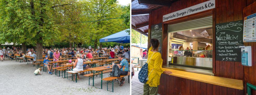biergarten, Geheimtipps, Brotzeit, München,, Foto: Waldheim