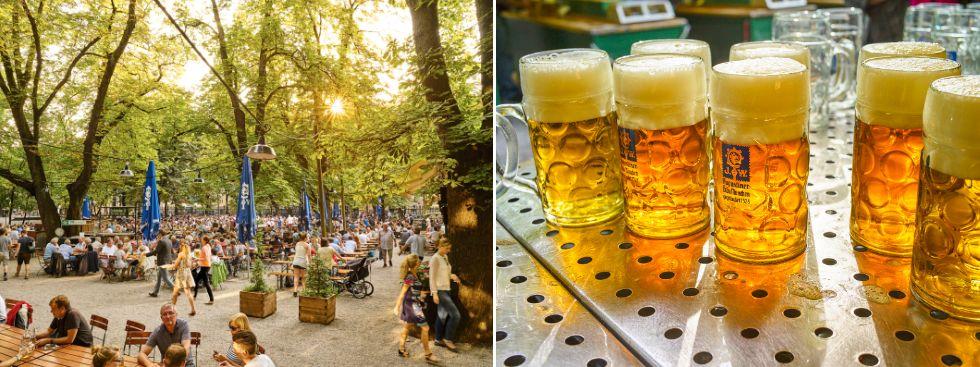 biergarten, augustiner, bier, sommer, Foto: Augustiner