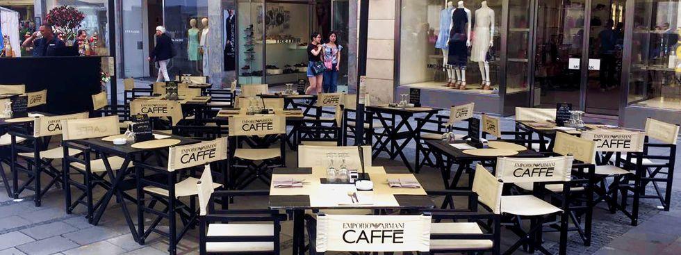 Emporio Armani Caffe, Foto: Emporio Armani Caffe
