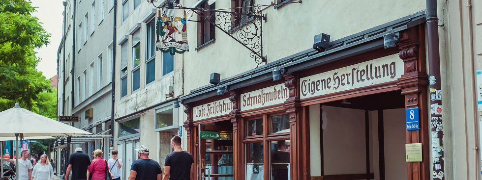 Café Frischhut, Foto: muenchen.de / Anette Göttlicher