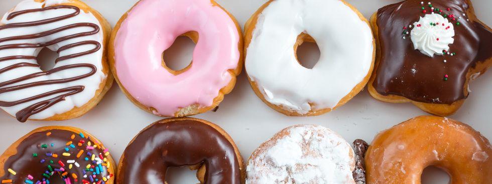 Bunte Donuts, Foto: Shutterstock / Busara
