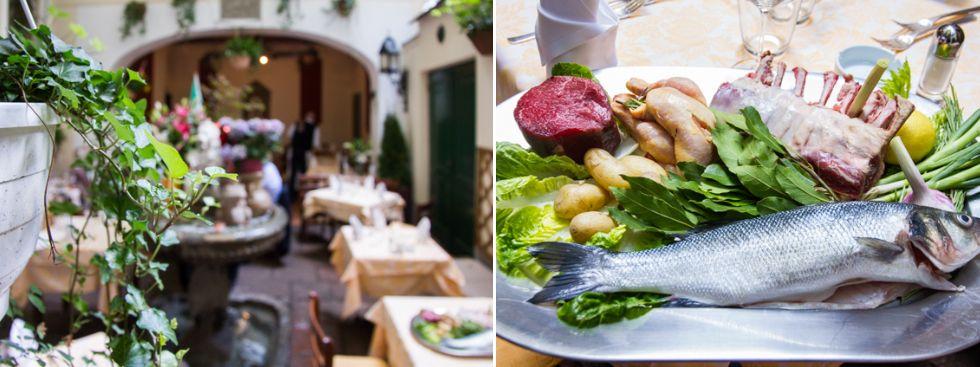 Bars zum draußen sitzen: Osteria Italiana, Foto: Markus Büttner