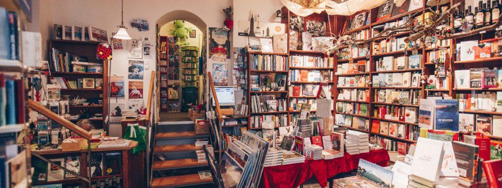 Buch & Café Lentner: Kaffee und Wein in Wohlfühlatmosphäre, Foto: Café Lentner