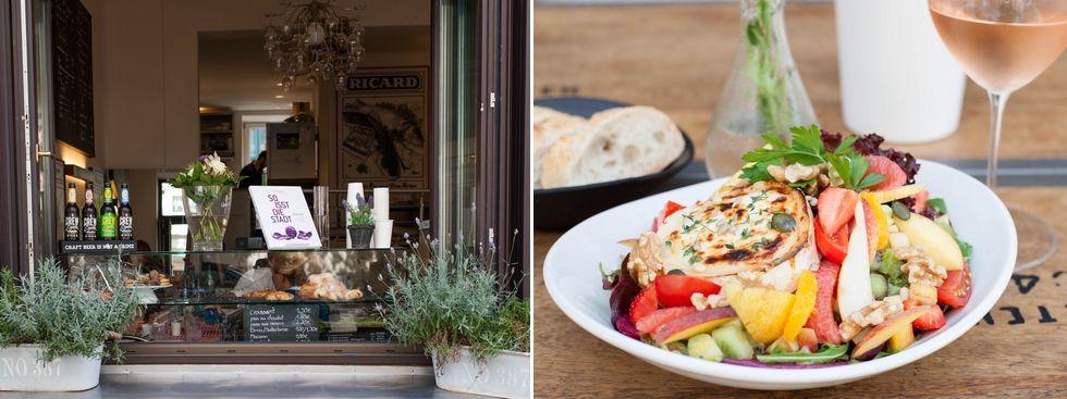 Lunch im Café ImmerSatt, Foto: Photopraline