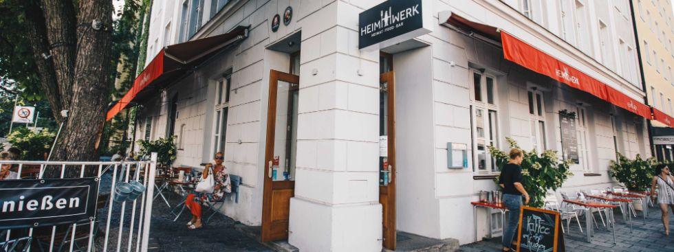 Restaurant Heimwerk von außen, Foto: Lionman