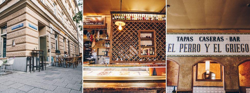 Restaurant El Perro y el Griego von außen und innen, Foto: Lionman
