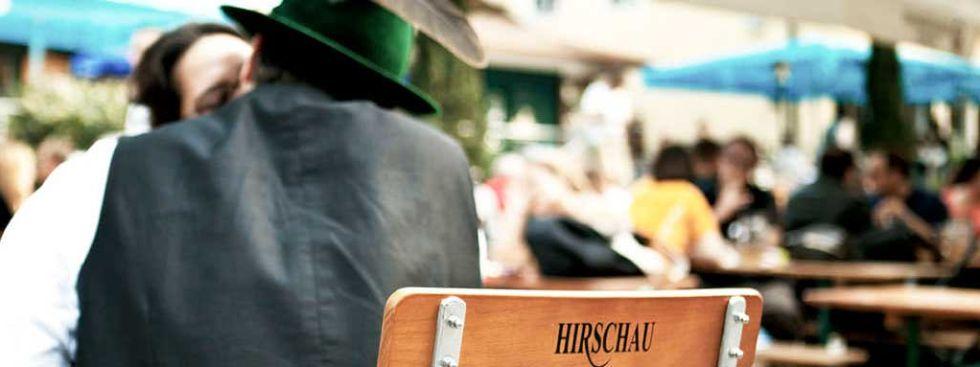 Die Hirschau im Englischen Garten, Foto: Hirschau