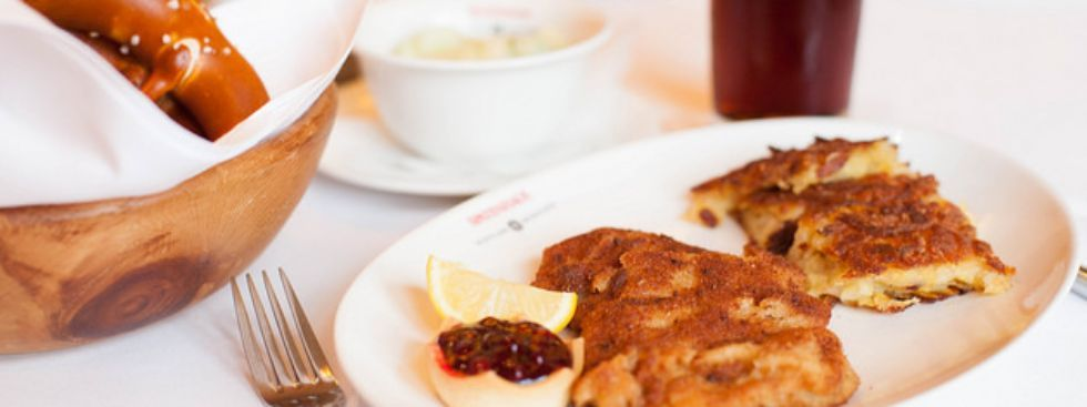 Original Wiener Schnitzel im Spatenhaus, Foto: Photopraline