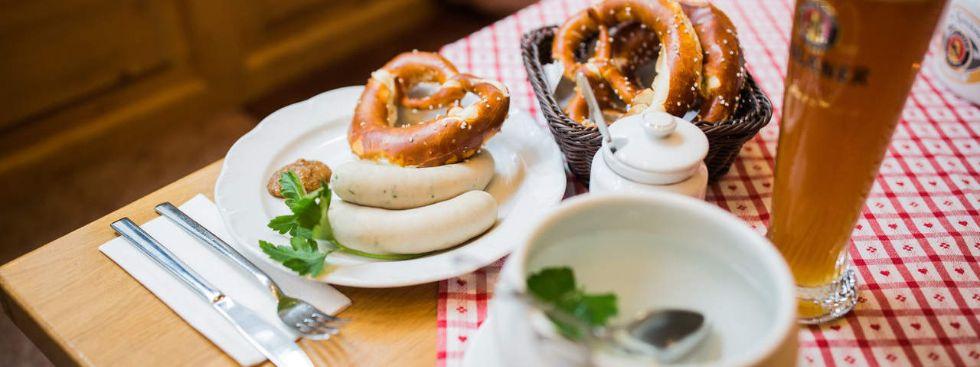 Weißwurst satt jeden Donnerstag im Spöckmeier, Foto: Spöckmeier