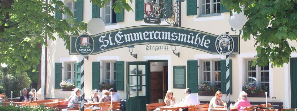 Biergarten St. Emmeramsmühle, Foto: St. Emmeramsmühle