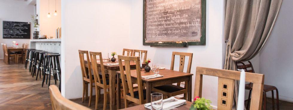 Restaurant Le Refuge von innen, Foto: Le Refuge