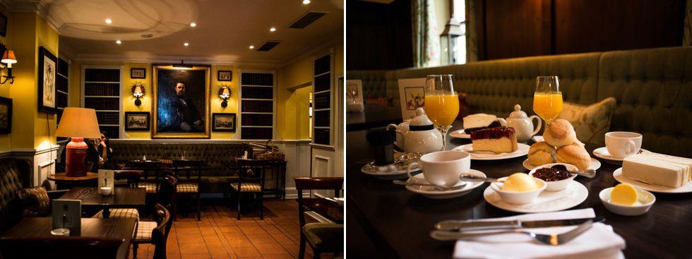 Tea time im Victorian House, Foto: Victorian House
