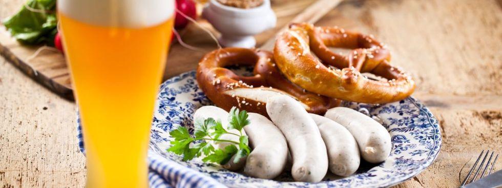 Weißwurstfrühstück, Foto: Cafe am Marienplatz