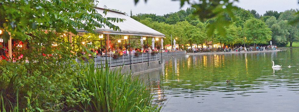 Michaeligarten in Abendstimmung, Foto: Michaeligarten