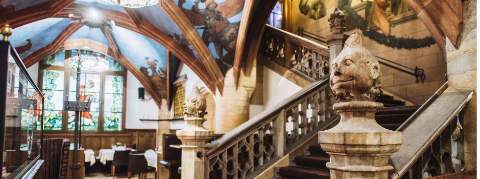 Die Treppe in der Arche Noah des Ratskellers, Foto: Ratskeller