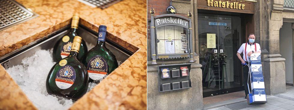 Weinlieferung des Ratskellers, Foto: Ratskeller