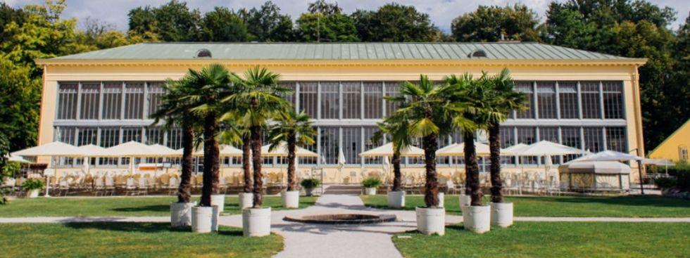 Das Palmenhaus von außen, Foto: Palmenhaus