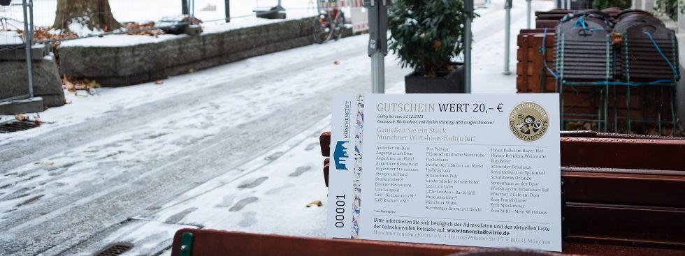 Gutschein der Innenstadtwirte, Foto: Anette Göttlicher